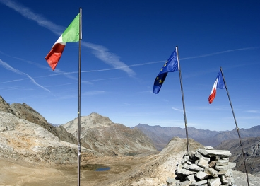 Francia-Italia; immagine tratta da: http://www.flickr.com/photos/8lab/1758588587/